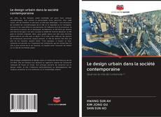 Le design urbain dans la société contemporaine kitap kapa??