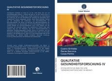 Couverture de QUALITATIVE GESUNDHEITSFORSCHUNG IV