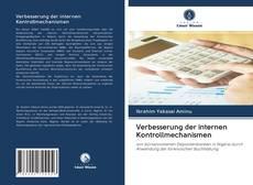Bookcover of Verbesserung der internen Kontrollmechanismen