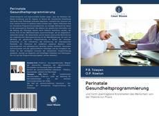 Capa do livro de Perinatale Gesundheitsprogrammierung