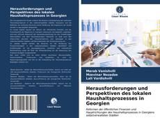Bookcover of Herausforderungen und Perspektiven des lokalen Haushaltsprozesses in Georgien