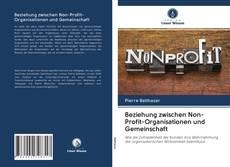 Bookcover of Beziehung zwischen Non-Profit-Organisationen und Gemeinschaft