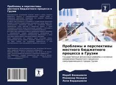Bookcover of Проблемы и перспективы местного бюджетного процесса в Грузии