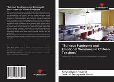 "Обложка ""Burnout Syndrome and Emotional Weariness in Chilean Teachers"""