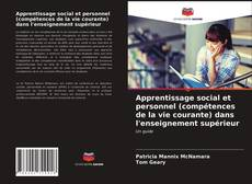 Apprentissage social et personnel (compétences de la vie courante) dans l'enseignement supérieur kitap kapağı