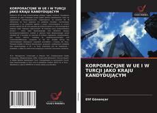 Portada del libro de KORPORACYJNE W UE I W TURCJI JAKO KRAJU KANDYDUJĄCYM