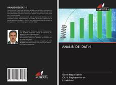 Bookcover of ANALISI DEI DATI-1