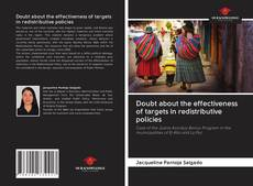 Bookcover of Doubt about the effectiveness of targets in redistributive policies
