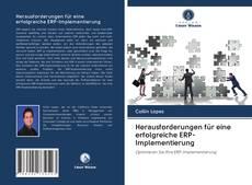 Couverture de Herausforderungen für eine erfolgreiche ERP-Implementierung