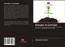 Capa do livro de Entropie et syntropie