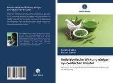 Обложка Antidiabetische Wirkung einiger ayurvedischer Kräuter