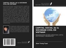 Portada del libro de CAPITAL SOCIAL de la SOCIEDAD CIVIL EN VIETNAM