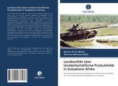 Buchcover von Landkonflikt über landwirtschaftliche Produktivität in Subsahara-Afrika