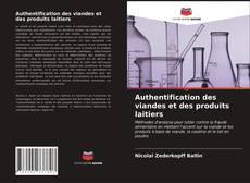 Authentification des viandes et des produits laitiers kitap kapağı