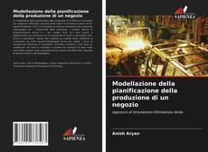 Buchcover von Modellazione della pianificazione della produzione di un negozio