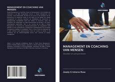 Bookcover of MANAGEMENT EN COACHING VAN MENSEN: