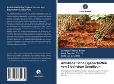 Capa do livro de Antidiabetische Eigenschaften von Biophytum Sensitivum
