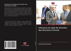 Bookcover of Influence du style de direction des directeurs d'école