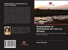 Portada del libro de Disponibilité et distribution de l'eau en Afrique