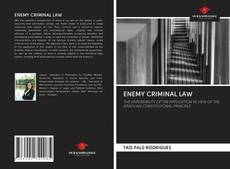 Bookcover of ENEMY CRIMINAL LAW