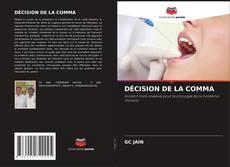 DÉCISION DE LA COMMA kitap kapağı