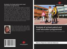 Couverture de Analysis of school patrol and road education programmes