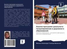 Обложка Анализ программ школьного патрулирования и дорожного образования