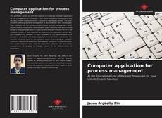 Buchcover von Computer application for process management