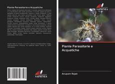 Piante Parassitarie e Acquatiche kitap kapağı