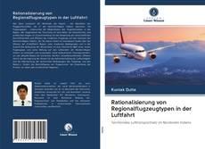 Обложка Rationalisierung von Regionalflugzeugtypen in der Luftfahrt