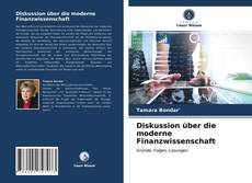 Diskussion über die moderne Finanzwissenschaft kitap kapağı