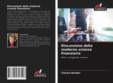 Copertina di Discussione della moderna scienza finanziaria