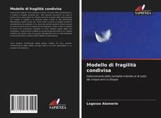 Capa do livro de Modello di fragilità condivisa