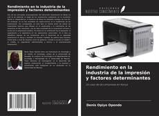Borítókép a  Rendimiento en la industria de la impresión y factores determinantes - hoz
