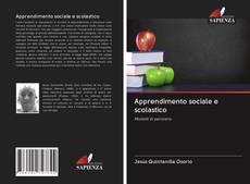 Buchcover von Apprendimento sociale e scolastico