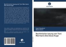 Обложка Bachtinische Lesung von Toni Morrisons Das blaue Auge