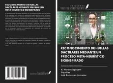 Capa do livro de RECONOCIMIENTO DE HUELLAS DACTILARES MEDIANTE UN PROCESO META-HEURÍSTICO BIOINSPIRADO
