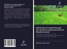 Portada del libro de Distributie en epidemiologie van boviene Trypanosomose en Bloedarmoede