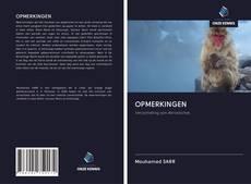 Buchcover von OPMERKINGEN