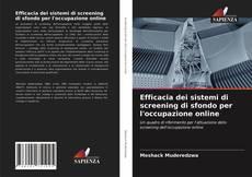 Portada del libro de Efficacia dei sistemi di screening di sfondo per l'occupazione online
