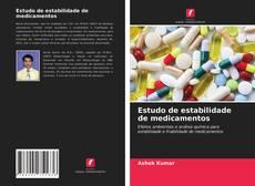 Portada del libro de Estudo de estabilidade de medicamentos