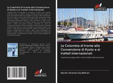 Portada del libro de La Colombia di fronte alla Convenzione di Kyoto e ai trattati internazionali