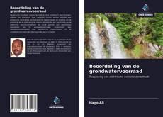 Beoordeling van de grondwatervoorraad kitap kapağı