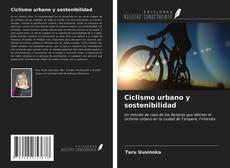 Buchcover von Ciclismo urbano y sostenibilidad