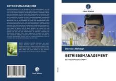 Bookcover of BETRIEBSMANAGEMENT