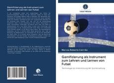 Portada del libro de Gamifizierung als Instrument zum Lehren und Lernen von Futsal
