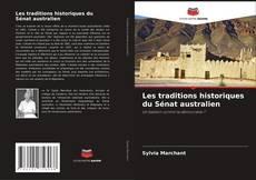Capa do livro de Les traditions historiques du Sénat australien
