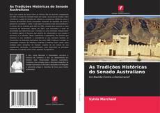 Capa do livro de As Tradições Históricas do Senado Australiano