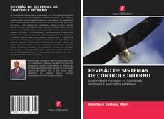 Capa do livro de REVISÃO DE SISTEMAS DE CONTROLE INTERNO