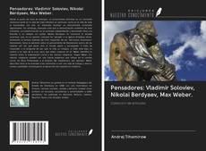 Copertina di Pensadores: Vladimir Soloviev, Nikolai Berdyaev, Max Weber.
